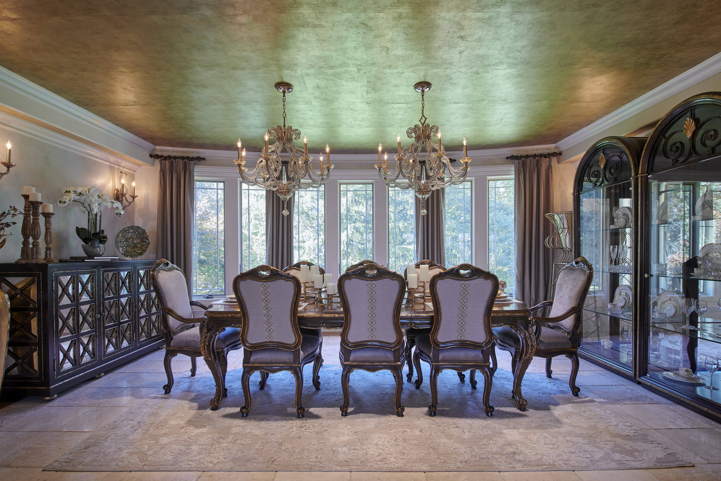 Project Reveal – Elegant formal dining room in Paramus, NJ